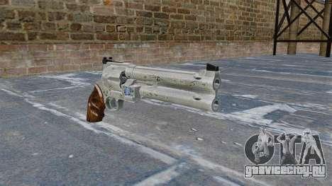 Револьвер -Blue Rose- для GTA 4