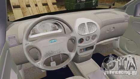 ВАЗ-1119 Lada Kalina для GTA 4 вид сзади