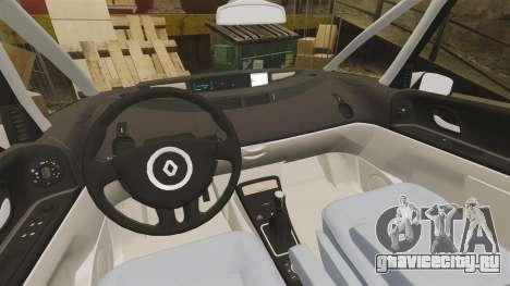 Renault Espace IV Initiale v1.1 для GTA 4 вид изнутри