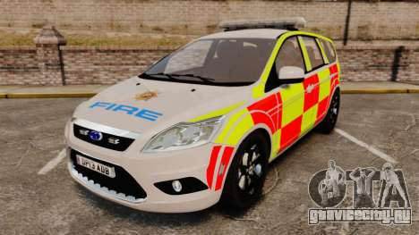 Ford Focus Estate 2009 Fire Car England [ELS] для GTA 4