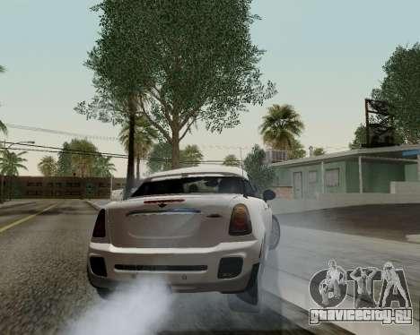 MINI Cooper S 2012 для GTA San Andreas вид сверху