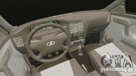 ВАЗ-2112 Hybrid для GTA 4 вид изнутри