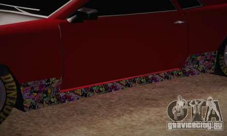 Elegy Frankinshtain для GTA San Andreas вид изнутри