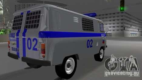УАЗ 3741 ОМОН для GTA Vice City вид слева
