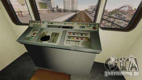 Головной вагон метрополитена модели 81-717 для GTA 4 третий скриншот