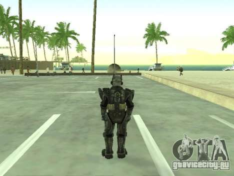 New skin from Fallout 3 для GTA San Andreas третий скриншот