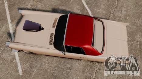 Peyote 1950 для GTA 4 вид справа
