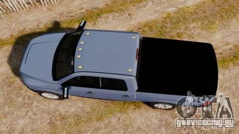 Dodge Ram 2010 для GTA 4 вид справа