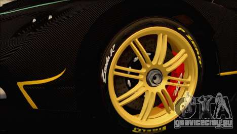 Pagani Zonda R SPS v3.0 Final для GTA San Andreas вид справа