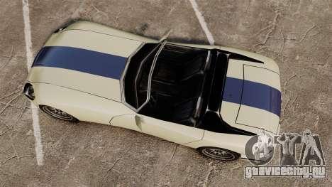 GTA SA Banshee для GTA 4 вид справа