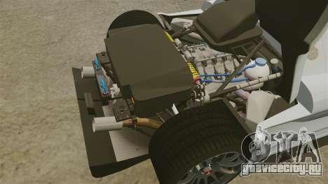 Gumpert Apollo S 2011 для GTA 4 вид сбоку