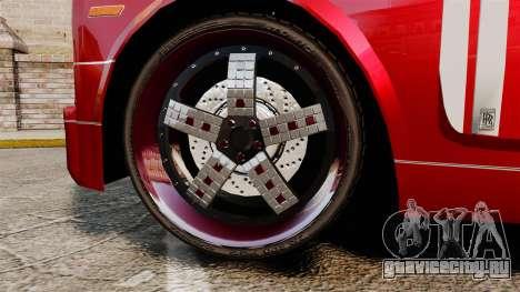 Rolls-Royce Phantom Mansory для GTA 4 вид сзади