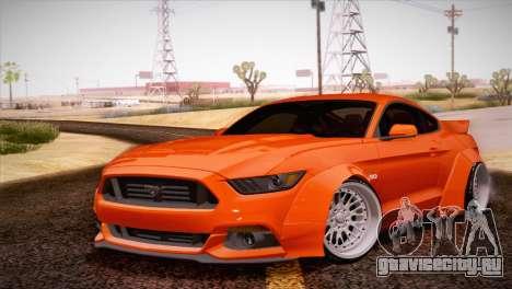 Ford Mustang Rocket Bunny 2015 для GTA San Andreas вид слева