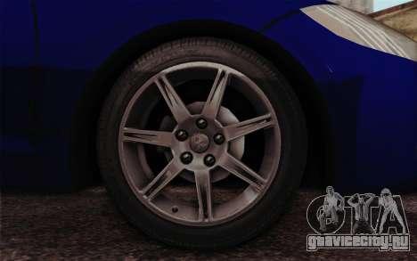 Mitsubishi Eclipse GT v2 для GTA San Andreas вид сзади слева