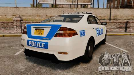 GTA V Vapid Police Interceptor LCPD [ELS] для GTA 4