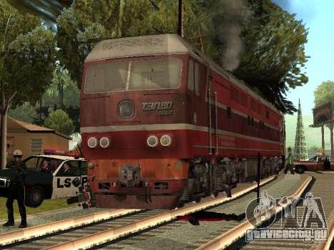 ТЭП80-0002 для GTA San Andreas вид слева