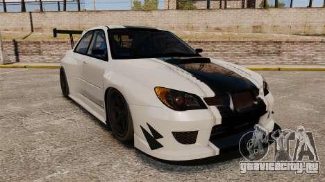 Subaru Impreza v2.0 для GTA 4