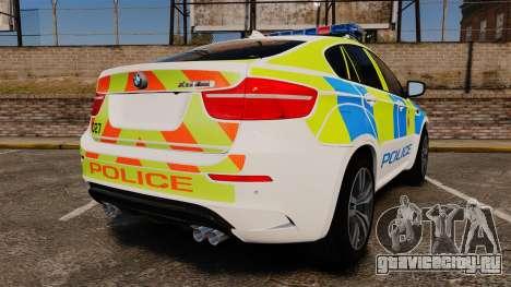 BMW X6 Lancashire Police [ELS] для GTA 4