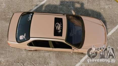 Honda Civic для GTA 4 вид справа