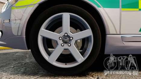 Volvo V70 Ambulance [ELS] для GTA 4 вид сзади