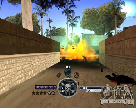 C-HUD by Niko для GTA San Andreas третий скриншот