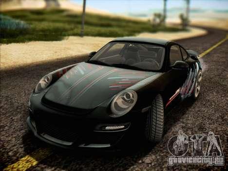 RUF RT12S для GTA San Andreas салон