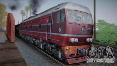 ТЭП80-0002 для GTA San Andreas вид справа