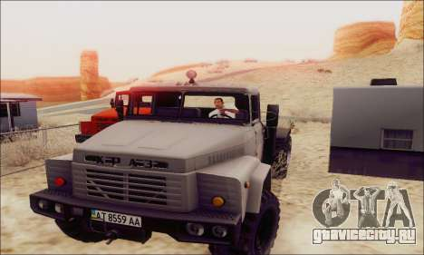 КрАЗ 260В для GTA San Andreas вид слева