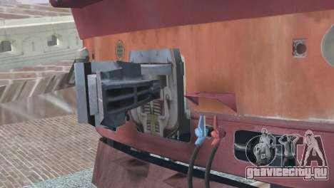 ТЭП80-0002 для GTA San Andreas вид изнутри