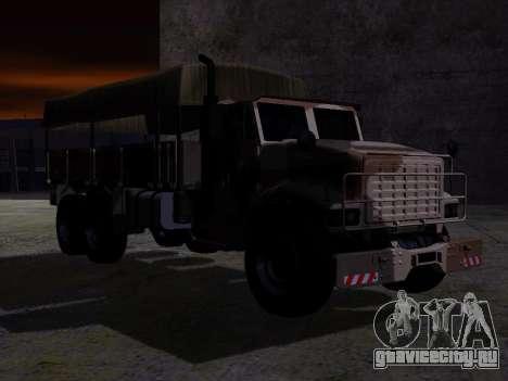 GTA V Barracks OL для GTA San Andreas вид сзади слева