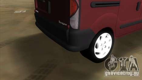 Renault Kangoo для GTA Vice City вид справа