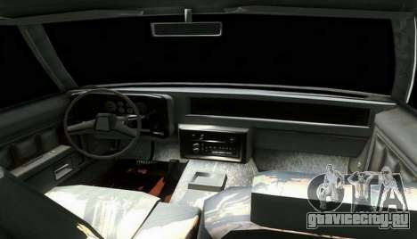 Chevrolet Malibu 1981 для GTA San Andreas вид сзади слева