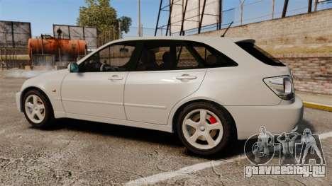 Toyota Altezza Gita для GTA 4 вид слева