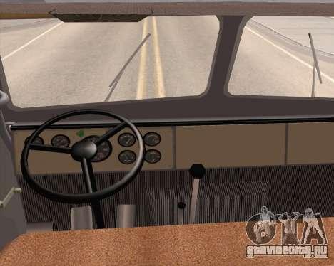 МАЗ 5431 для GTA San Andreas вид справа