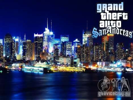 Loadscreens New-York для GTA San Andreas девятый скриншот