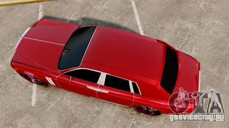 Rolls-Royce Phantom Mansory для GTA 4 вид справа