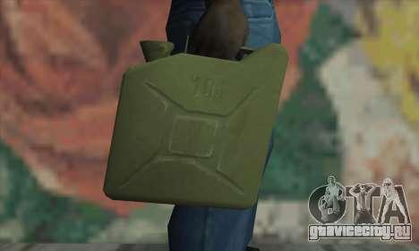 Канистра для GTA San Andreas третий скриншот