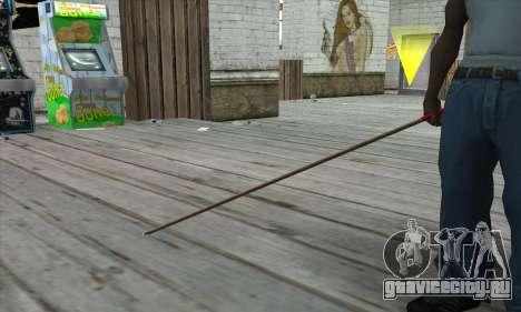 New Pool Cue для GTA San Andreas третий скриншот