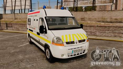 Renault Master French Red Cross [ELS] для GTA 4