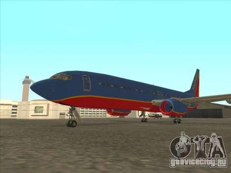 Boeing 737 Southwest Airlines для GTA San Andreas