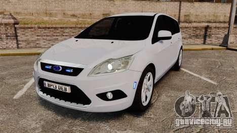 Ford Focus Estate 2009 Unmarked Police [ELS] для GTA 4