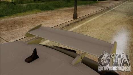Audi S3 для GTA San Andreas вид сзади