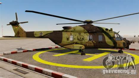 Eurocopter NHIndustries NH90 [EPM] для GTA 4 вид слева