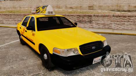 Ford Crown Victoria 1999 SF Yellow Cab для GTA 4