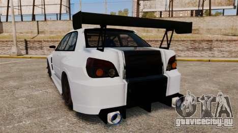 Subaru Impreza v2.0 для GTA 4 вид сзади слева