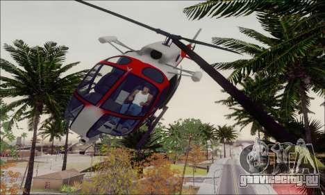 GTA V Ambulacia Maverick для GTA San Andreas вид сбоку