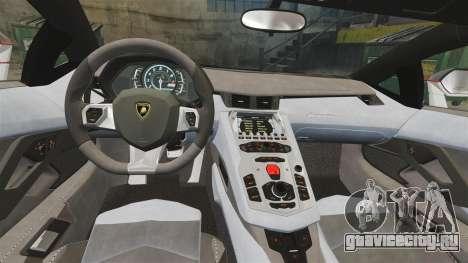 Lamborghini Aventador LP700-4 2012 [EPM] Lamotte для GTA 4 вид изнутри