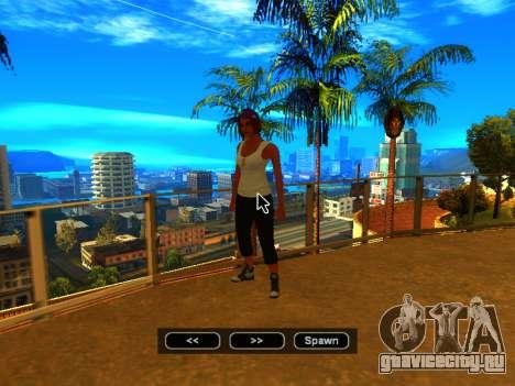 Пак скинов девушек для GTA San Andreas десятый скриншот