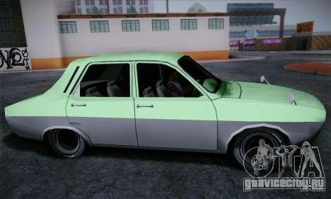 Dacia 1300 Retro Art для GTA San Andreas вид сзади слева