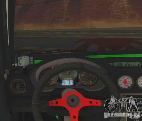 Subaru Forester JDM для GTA San Andreas вид сзади
